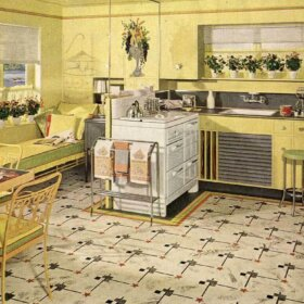 vintage armstrong flooring