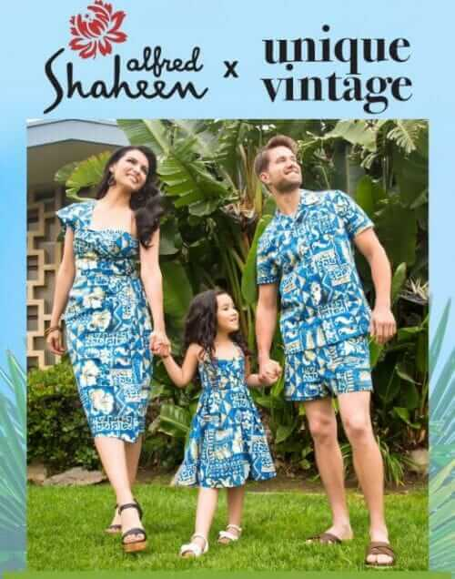 c5f2cf995 Alfred Shaheen for Unique Vintage sarong dresses, cabana sets and more — oh  my!