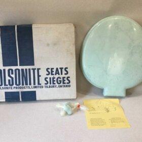 vintage toilet seat