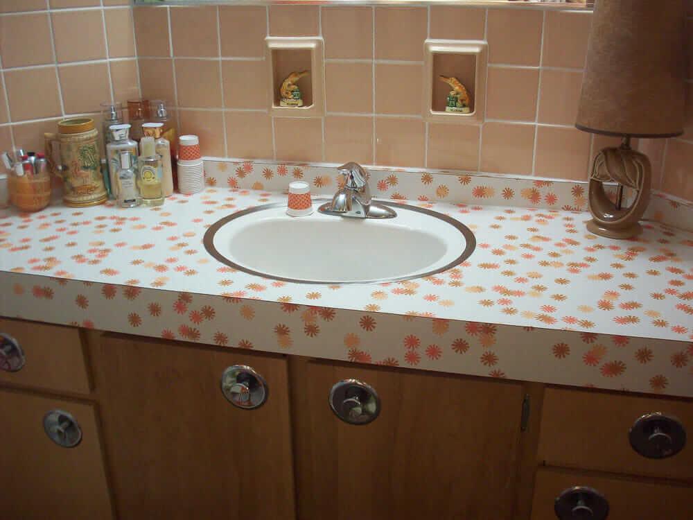 wilsonart daisy vintage countertop laminate reintroduced