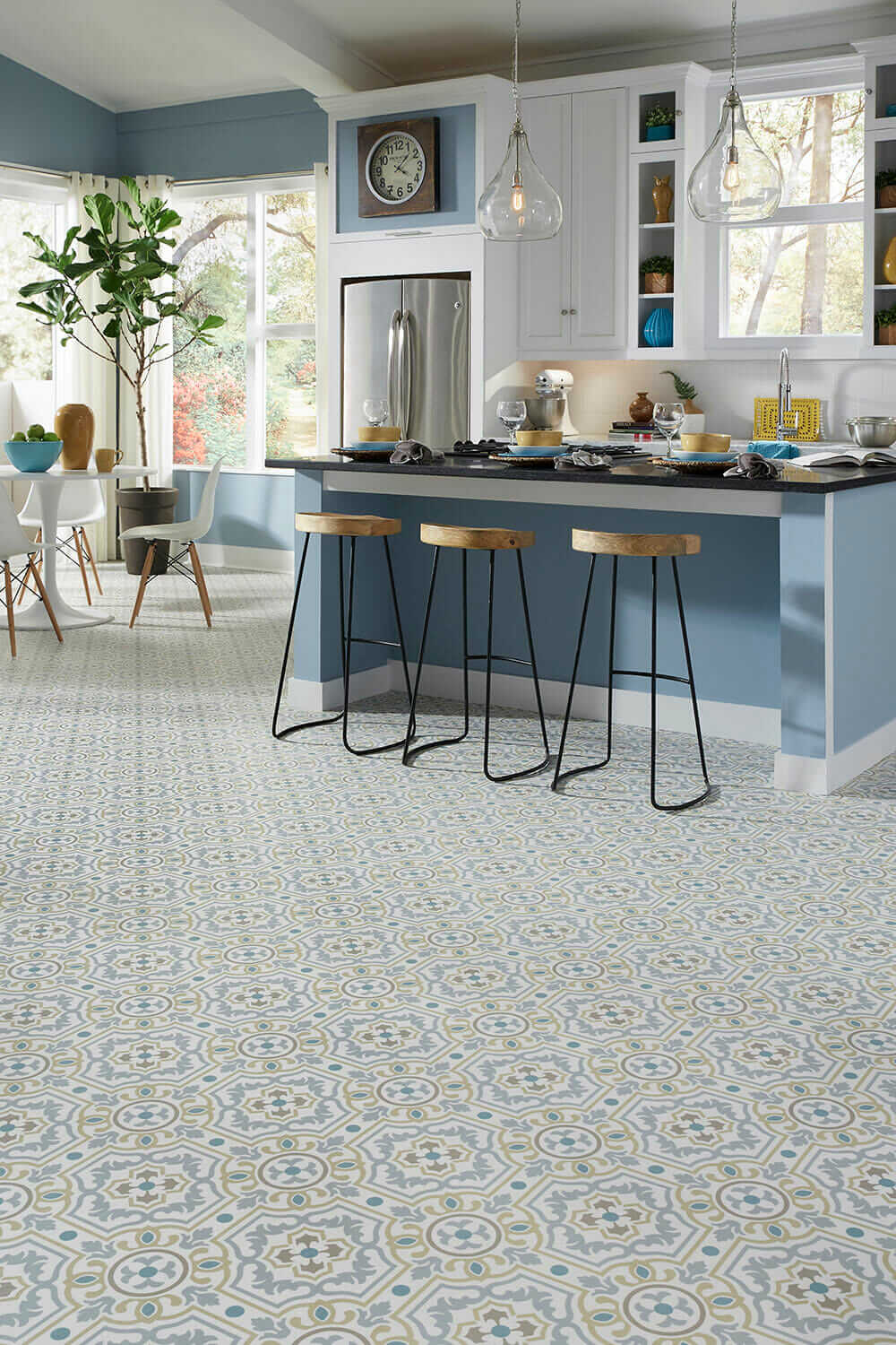 Do you want patterned vinyl or linoleum flooring i get a fair number of questions from readers asking where to find it and the pickins are slim