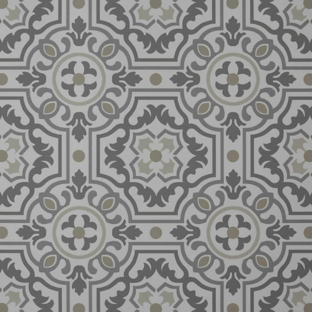 patterned kitchen floor