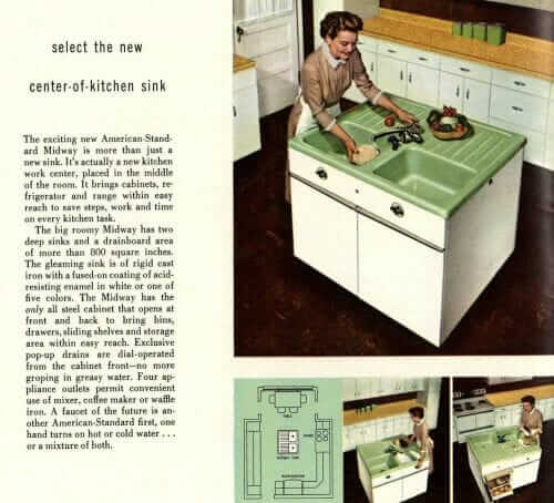 American Standard Midway sink