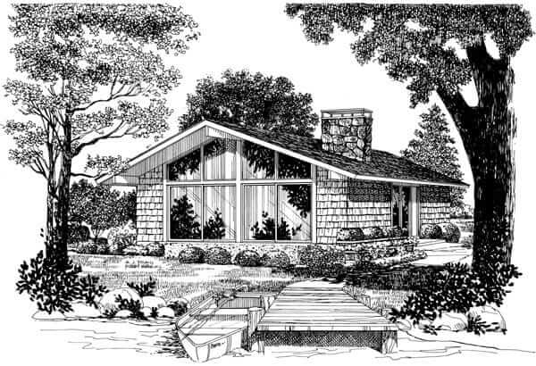 Historic mid century modern house plans for sale today ...