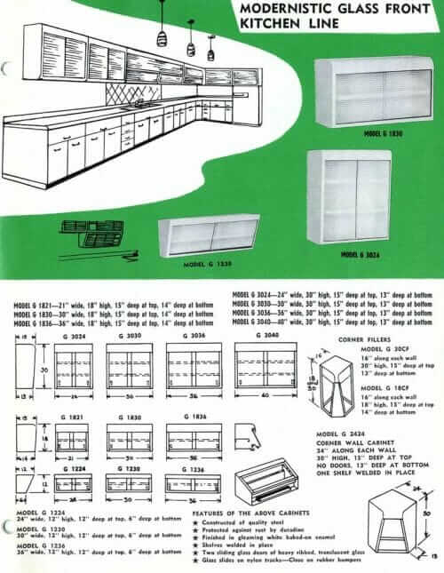 Lyon Steel Kitchen Cabinets