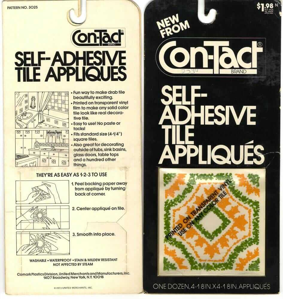 tile tattoos vintage contact brand