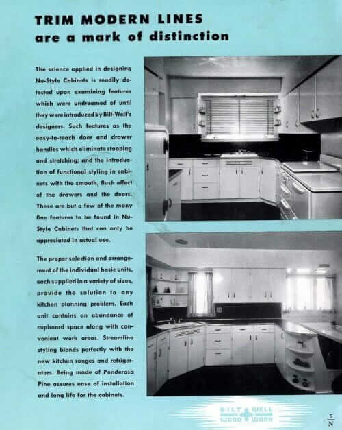 1940s kitchen cabinet designs
