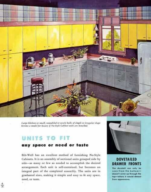 1940s wood kitchen cabinets gray base cabinet yellow wall cabinets