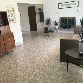 1960s style flooring