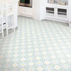 1970s style kitchen flooring