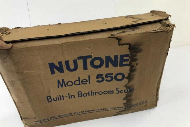 vintage nutone bathroom scale model 550