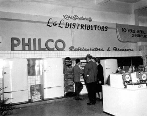philco kitchen appliances 1947