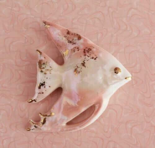 pink boomerang laminate