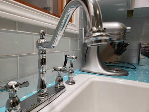 retro kitchen faucet