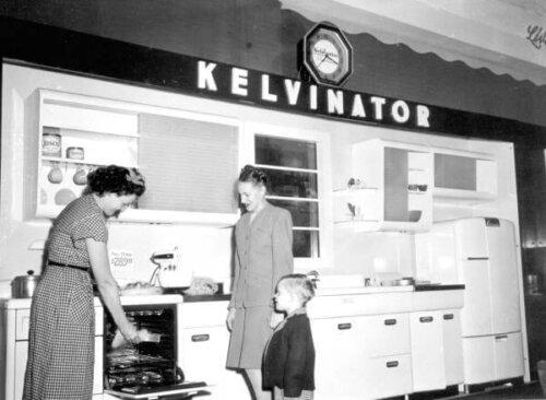 kelvinator vintage stove