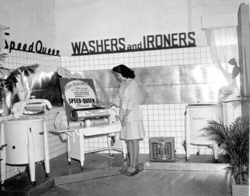 vintage speed queen washers and mangles