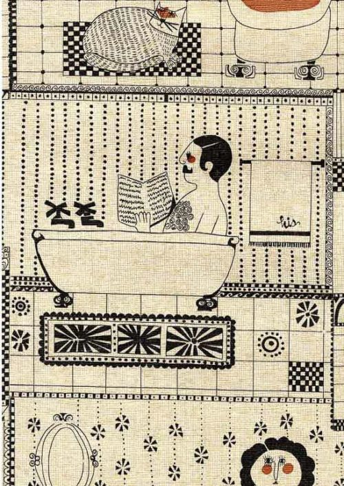 1970s bathroom wallpaper vicoa