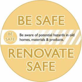 be safe renovate safe graphic