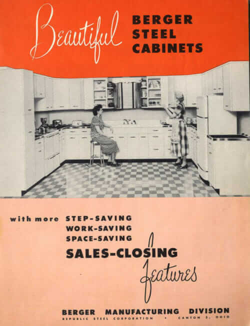 berger steel kitchen cabinets 1948