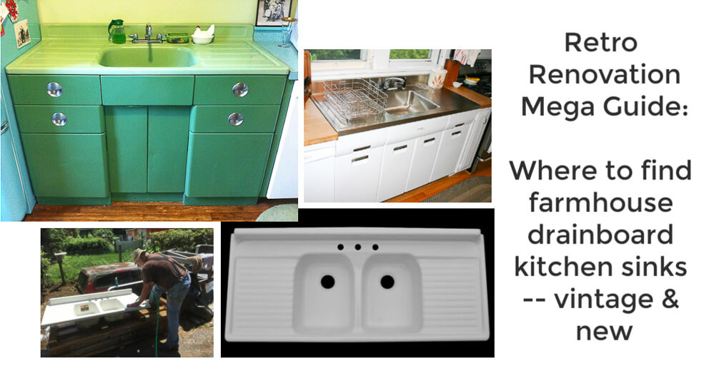 9 Sources For Farmhouse Drainboard Sinks Reproduction Vintage