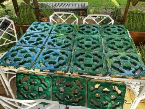 tiki bar tiles jade green chinese tiles