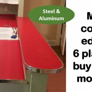 metal counter edges where to buy