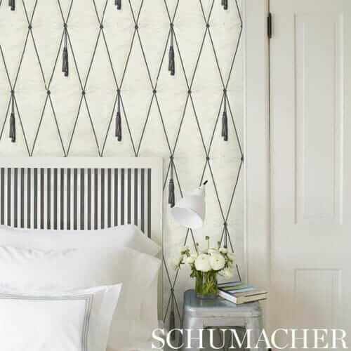 Schumacher Paul Poiret wallpaper