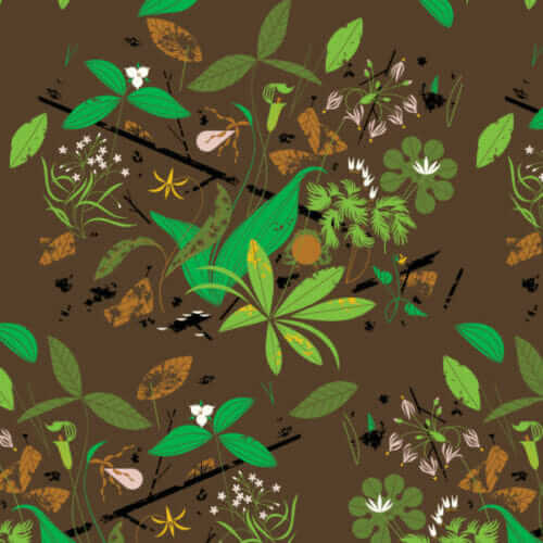 charley harper barkcloth by birch fabric