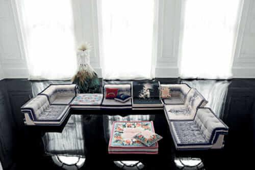 Jean Paul Gaultier Mah Jong sofa for Roche Bobois