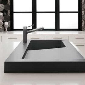 sexy modern kitchen sink