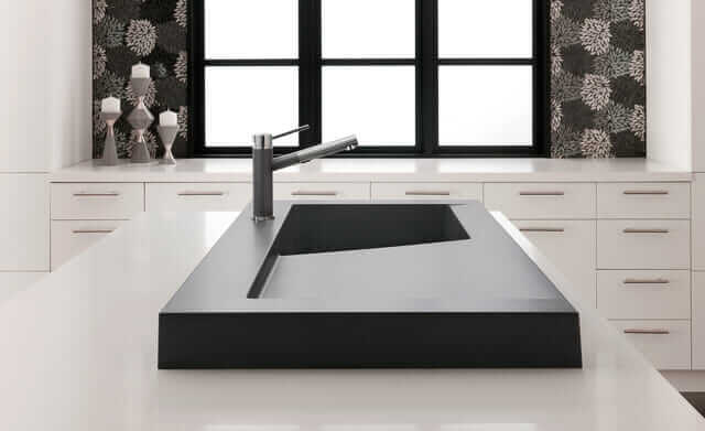sexy modern kitchen sink