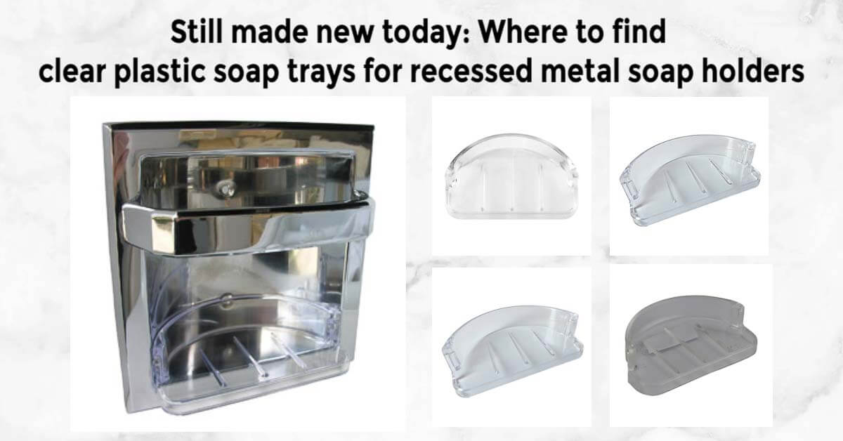 replacement plastic soap tray