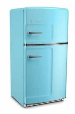 retro refrigerator by big chill