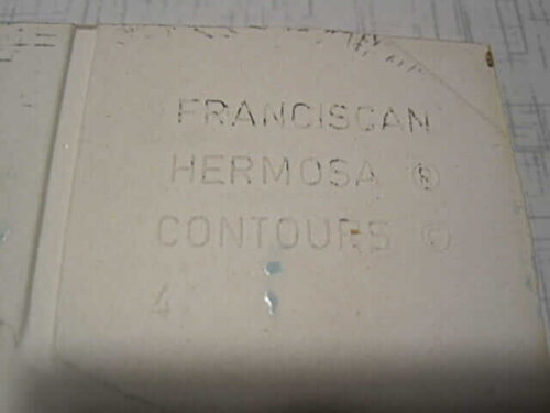 franciscan hermosa contour tile mark