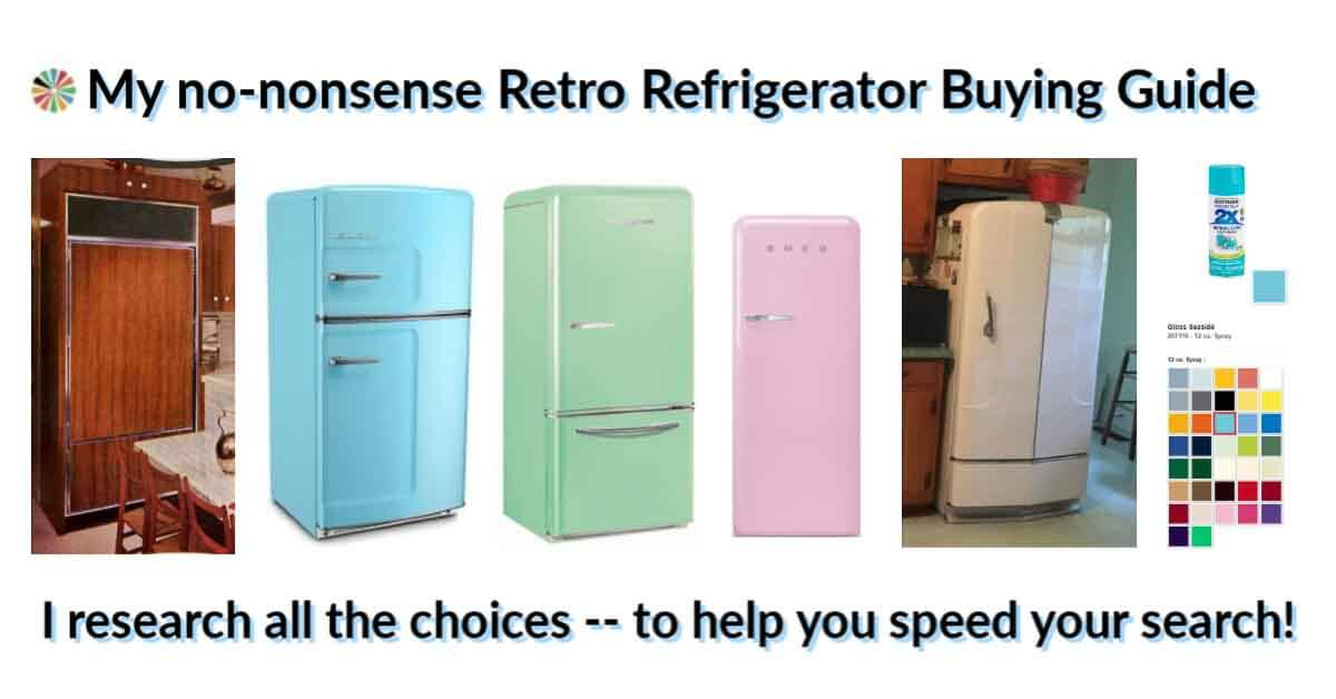 Retro Refrigerator Buying Guide 8 Great Options At Your Fingertips