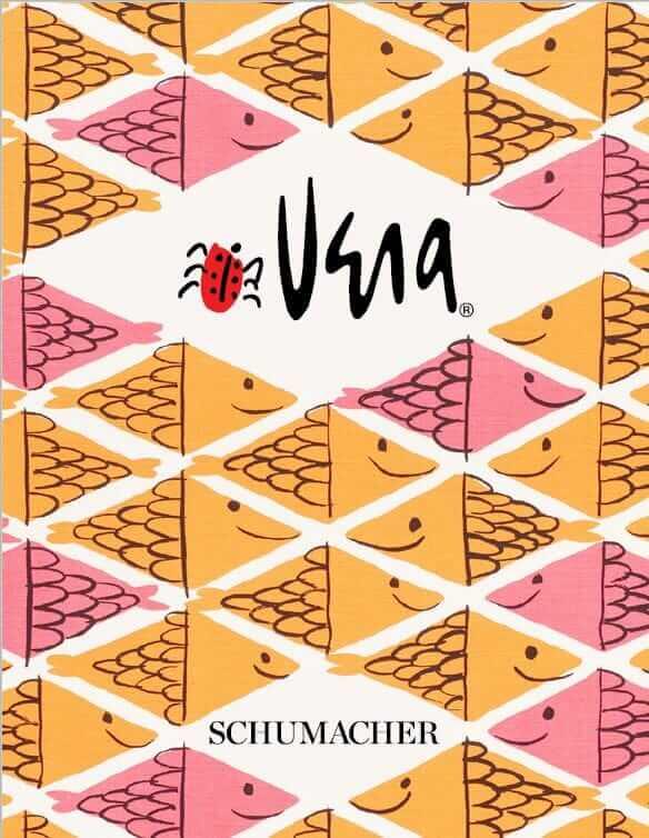 vera neumann fabric for schumacher fish school