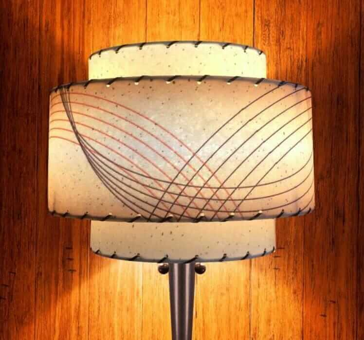 fiberglass lamp shade