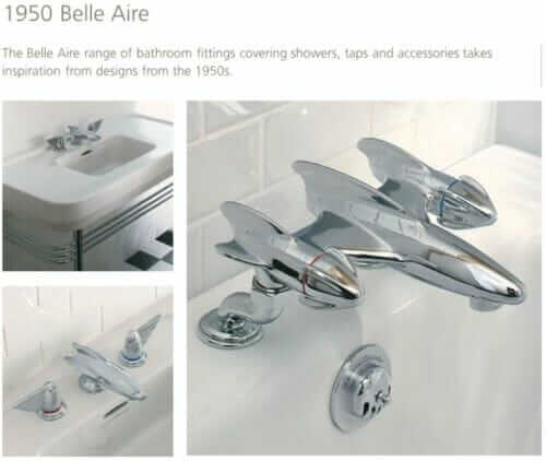 lefroy brooks belle air 1950s bathroom fixtures