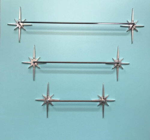 starburst towel bars