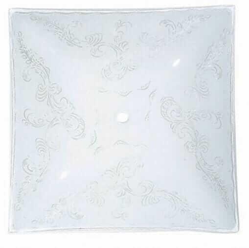 retro ceiling light