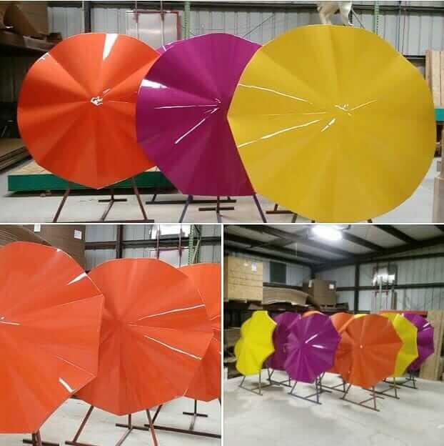 Retro Fibergl Patio Umbrellas 5