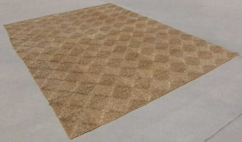 seagrass square rug