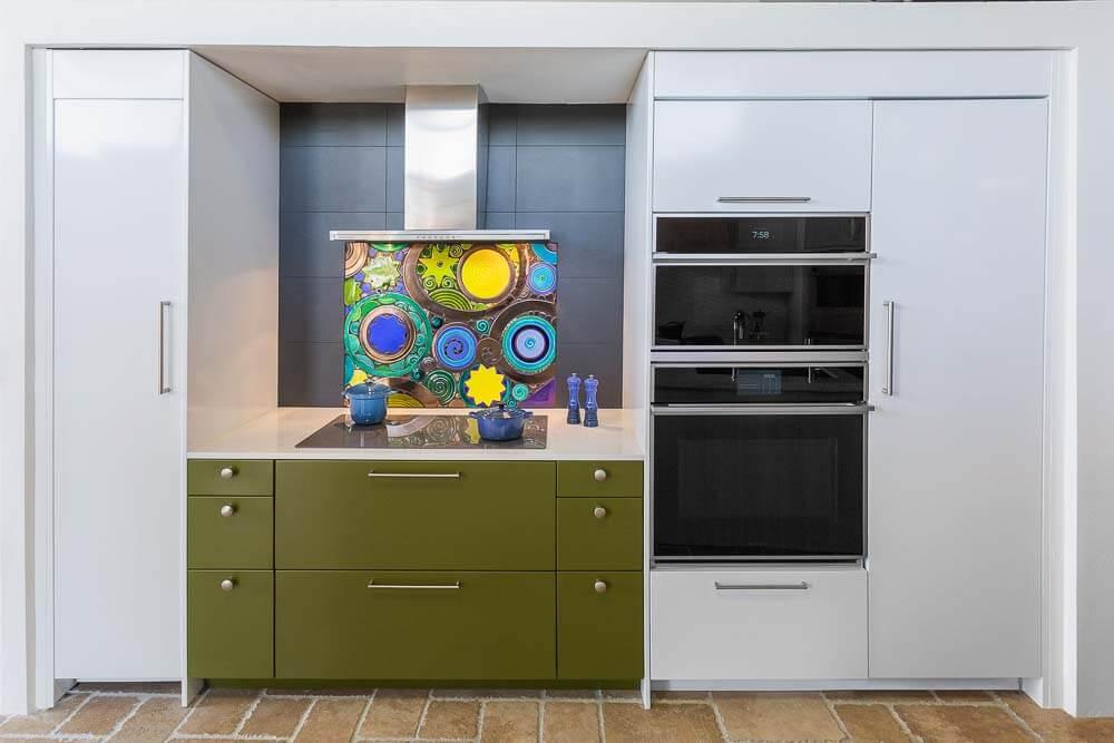 steel kitchen cabinet by moya living