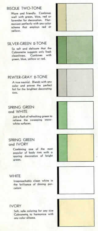 1930s kitchen cabinet colors