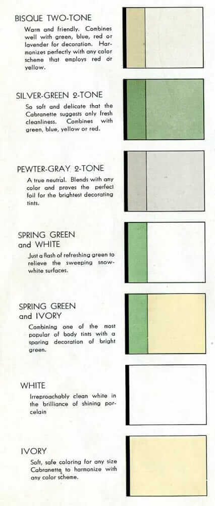 1930s kitchen cabinet colors
