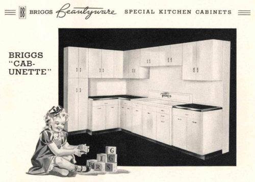 Briggs Beautyware kitchen
