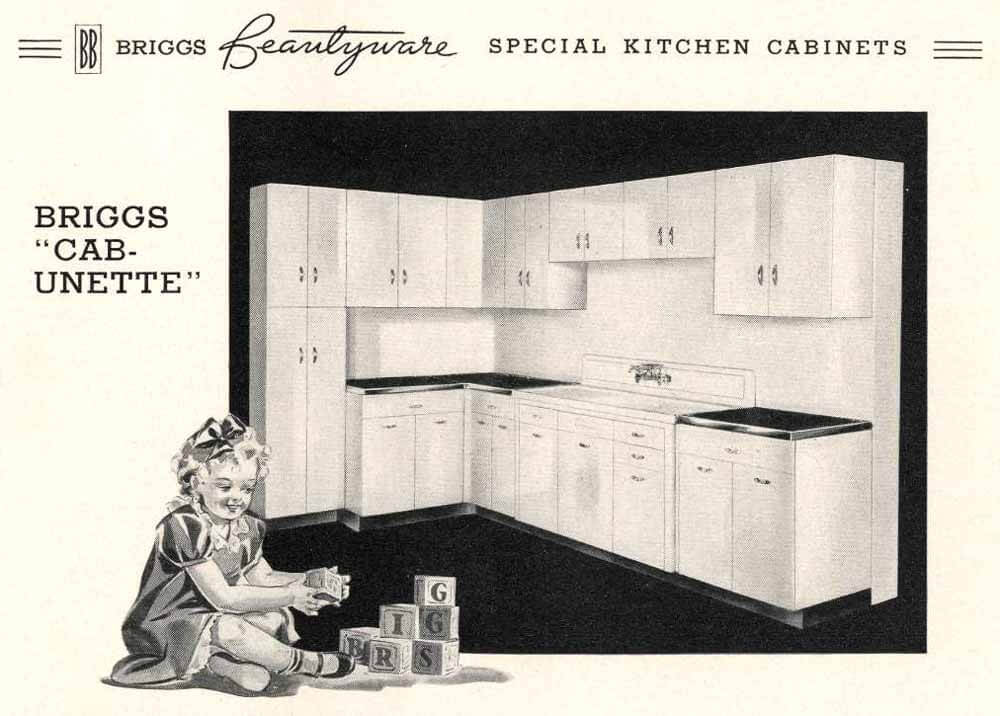 Briggs Beautyware kitchen
