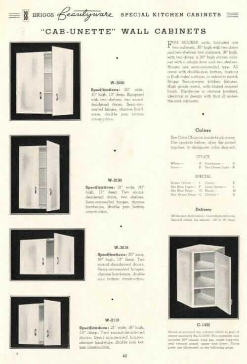 briggs kitchen cabinets