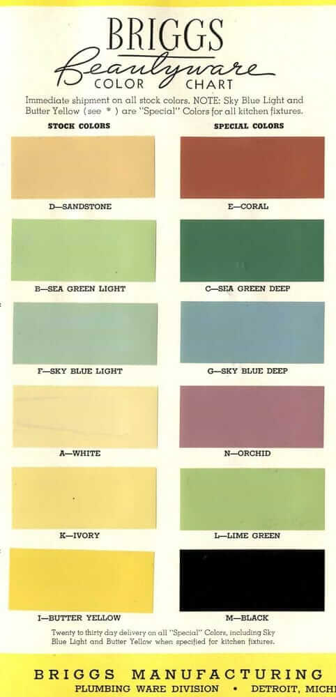 steel kitchen cabinet colors 1938