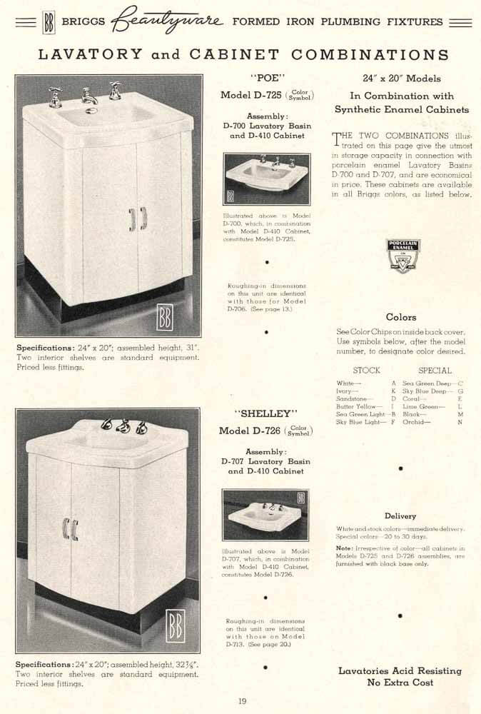Briggs Beautyware Kitchen Cabinets Making Steel Kitchen Cabinets As Early As 1938